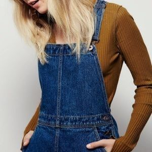 Free People Denim Jumper